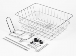 BLB front rack, BLB rack and basket combo